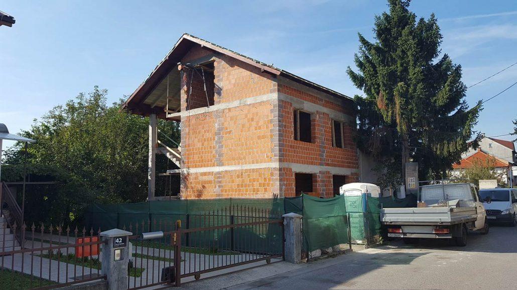 Gradnja kuće – Trnje Zagreb