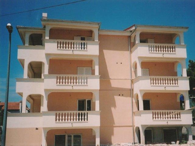 Izgradnja apartmana Vodice ulica Lasan Ante Kabalera