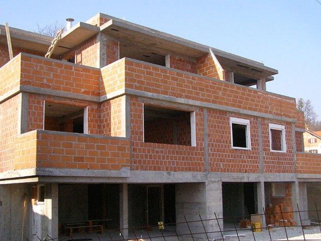 Izgradnja stambene zgrade ulica Čopci Čučerje Zagreb