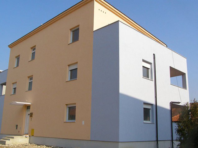 Izgradnja stambene zgrade Horvatova ulica Sesvete I