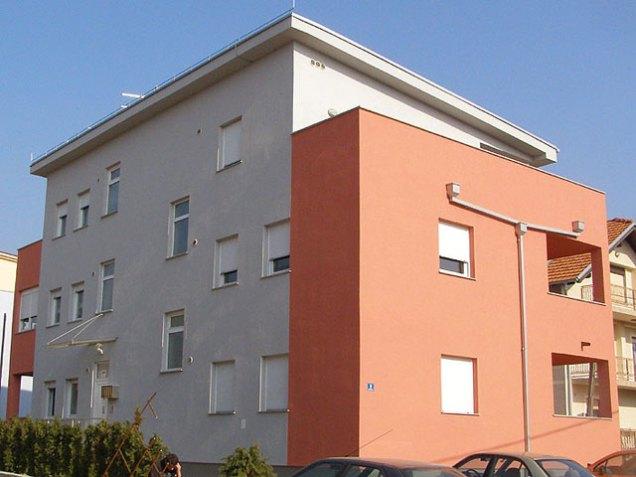 Izgradnja stambene zgrade Horvatova ulica Sesvete II
