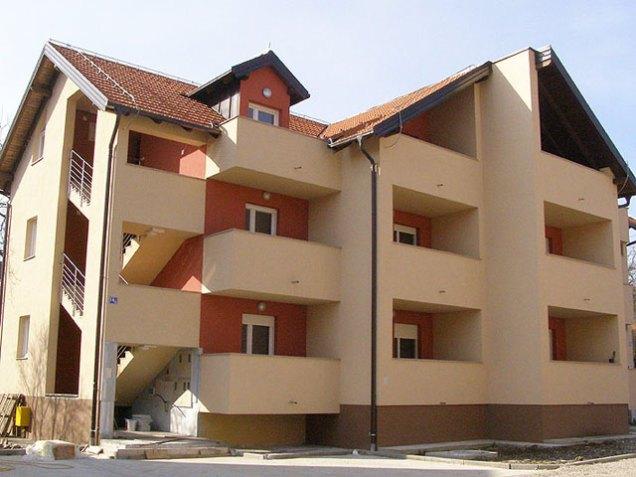 Izgradnja stambene zgrade Otona Ivekovica Sesvete