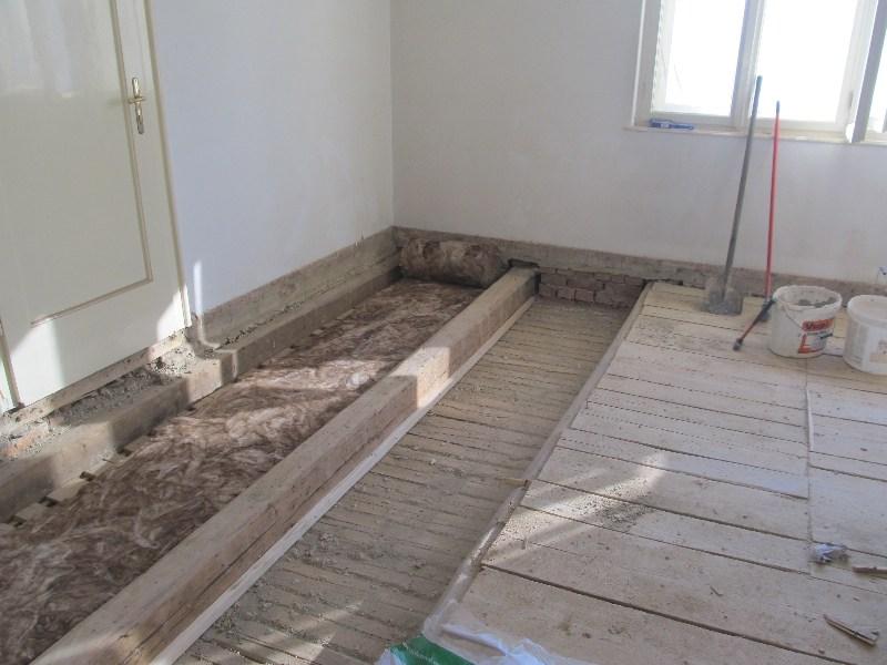 Sanacija starog poda u Karlovcu